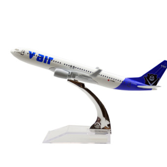 Taiwan V air Boeing 737 16cm Airplane Models Child Birthday Gift Plane Models Toys Price Philippines