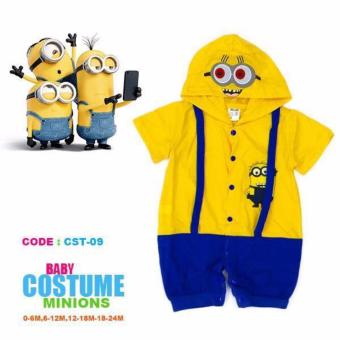 Baby Romper Costume Minions (2-3 Years) Price Philippines