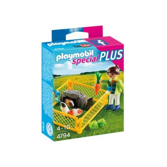 Harga Playmobil Special Plus Girl and Guinea Pigs