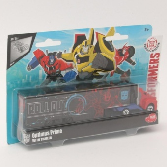 Harga Transformers Optimus Prime with Trailer