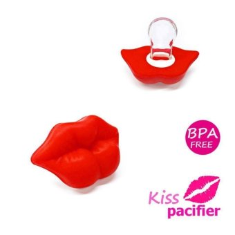 BABY DREAM KISS FUNNY PACIFIER (RED) Price Philippines