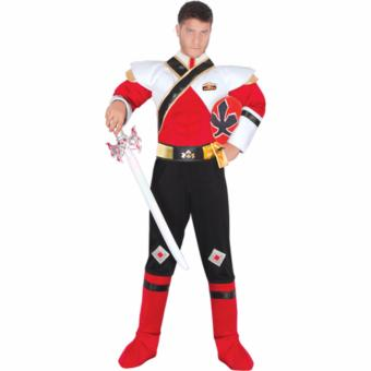 Harga Power Rangers Super Samurai Red Ranger Adult Costume