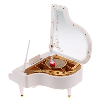 Clockwork Type Rotary Classical Ballerina Girl On The Piano Music Box Price Philippines