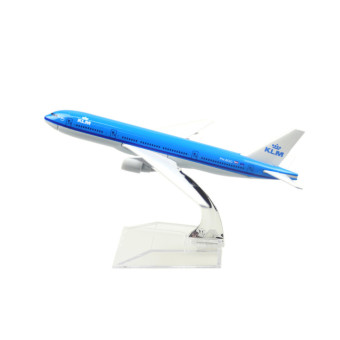 KLM Royal Dutch Airlines Boeing 777 16cm Airplane Models Child Birthday Gift Plane Models Toys Price Philippines