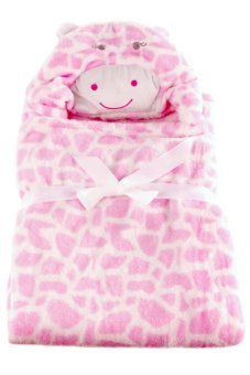 Cow Hooded Blanket (Pink) Price Philippines