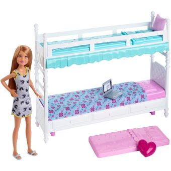 Harga Barbie® Sisters Bunk Beds & Stacie® Doll