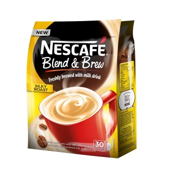 Harga Nescafe Blend and Brew Silky Roast Coffee Mix Sachets 30's Pack