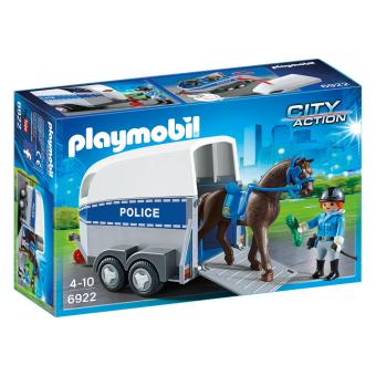 Harga Playmobil City Action Police With Horse & Trailer