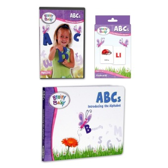 Brainy Baby ABCs VCD Series, Board Books and Flashcards Bundle Price Philippines