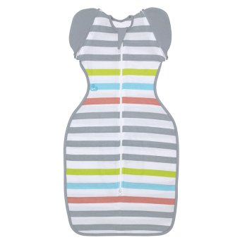 Harga Love to Dream Swaddle UP 50 50 Summer Lite (Multi Stripe)