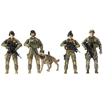 Sunny Days Entertainment Elite Force Army Rangers 5 Pack FiguresToy - intl Price Philippines