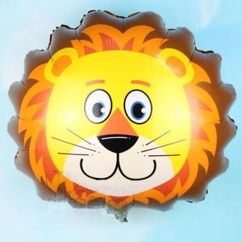 12 Pcs Big Size Lion Head Helium Foil Balloons Birthday Theme Party (Big - 14 Inch) Price Philippines