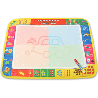Harga CP1378 39X29cm New arrives 4colors Baby Water Doodle Mat with 1 Magic Pen Drawing Toys Mat Aquadoodle Mat (Intl)