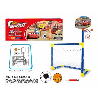 YD2588Q-5 Sports 2-in-1 Cars2 Soccer & basketball indoor/outdoor kids toy Price Philippines
