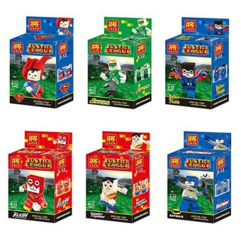 Lele 79022 Justice League 6pcs./ Set Building Block Toy Price Philippines