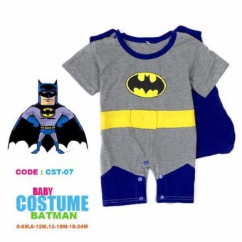 Batman Baby Romper Costume (2-3 Years) Price Philippines