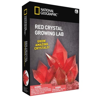Harga National Geographic Crystal Grow Toy (Red)