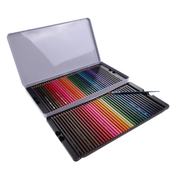 72 Pcs Water Color Soluble Drawing Sketching Non-toxic Pencil+Brush Artist Price Philippines