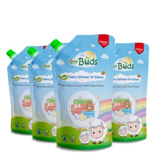 Harga Tiny Buds Natural Fabric Softener 500ml Set of 4