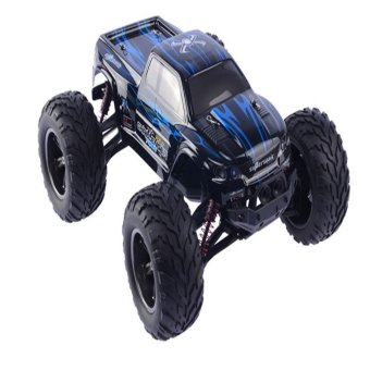 Harga S911 1:12 High Speed 42km/h 2.4G Monster Truck Shockproof Waterproof OFF-ROAD RC Car (blue) - Intl