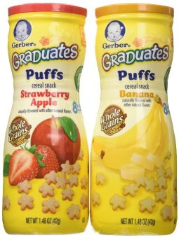 Harga Gerber Graduates Puffs Cereal Snack Pack of 2