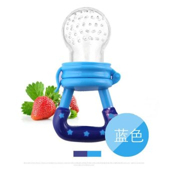 Harga BU Blue baby fruits and vegetables baby food feeder M code (6 months) - intl