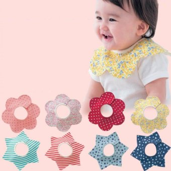 Infant Baby Bibs Kids Cotton Bandana Feeding Saliva Towel Dribble Pinny Scarf - intl Price Philippines