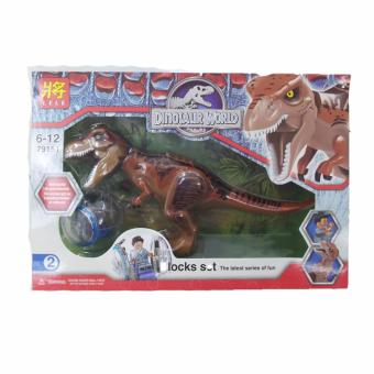 Harga 79151 Dinosaur World Block Set