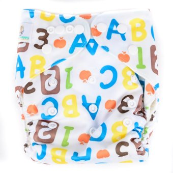 Happy Nappy ABC Cloth Diaper with Insert Price Philippines