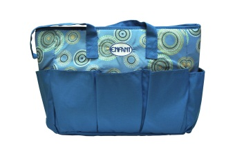 Enfant Mama Diaper Bag (Blue) Price Philippines