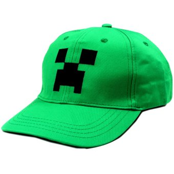 ANIME ZONE Mojang Games Minecraft Unisex Fashionable Snapback Cosplay Cap Price Philippines