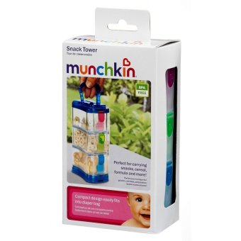Harga Munchkin Snack Tower (multi color)