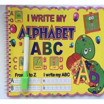 Harga I WRITE MY ABC YELLOW BIG