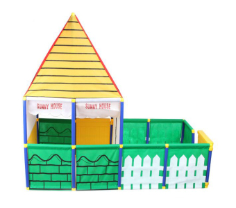 Harga Sunny House Pop-Up Play House Tent (Multicolor)