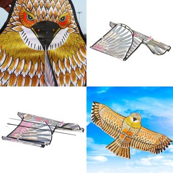Golden eagle kite with handle line kite games bird kite weifang chinese kite - intl Price Philippines