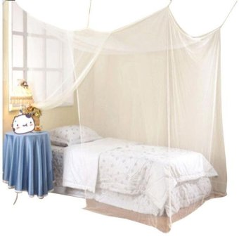 Harga Encryption Nets 1.8 m Bed Student Dormitory Mosquito Nets Party - intl