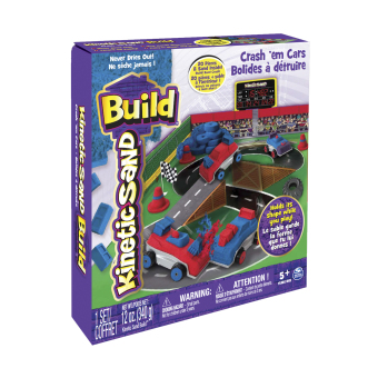 Harga Kinetic Sand Build Crash 'Em Cars 12Oz Clay