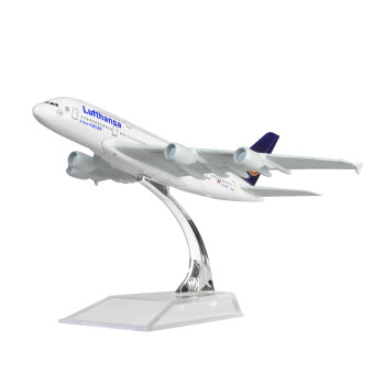 German Lufthansa Airbus 380 16cm Metal Airplane Models Child Birthday Gift Plane Models Home Decoration Price Philippines