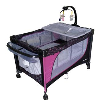 Baby 1st Crib Playpen P-510DCR, (PURPLE) Price Philippines