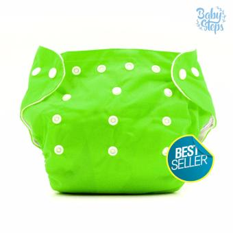 BABY STEPS Cloth Baby Diapers (Green) Price Philippines