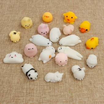 Fengsheng 20Pcs Soft Rising Squishy Squeeze Cute Animal Expression Nice Kids Kawaii - intl Price Philippines
