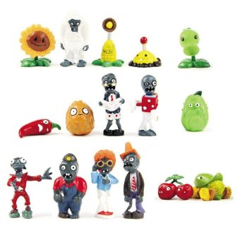 Rebirth 16x Plants Vs Zombies Toys Series Game Role Figure Display Toy PVC - intl Price Philippines