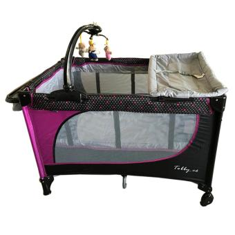 Baby 1st playpen P510DCR (TOBBY.CO 2016 (purple) Price Philippines