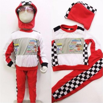 Kids Car Racer Lightning Mcqueen Costume (3 Years Old) Price Philippines