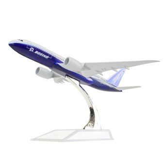 Boeing 787 Dreamliner 16cm Metal Model Prototype Backactor Airplane Models Gift Toys Price Philippines