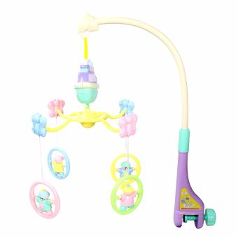 Harga Funny Toy Happy Baby Infant Toys Bed Crib Musical Hanging Bell Rotate Mobile Rattle