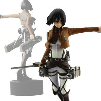 Harga Trendy Japaness Anime Shingeki No Kyojin Mikasa Figure Attack On Titan