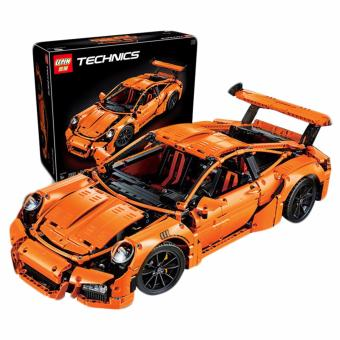 Harga Lepin Technics 20001 Porsche 911 GT3 RS Building Blocks