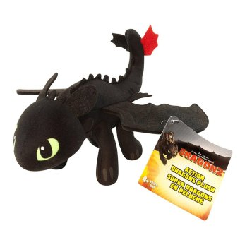 Harga DreamWorks Dragons: How To Train Your Dragon 2 - 8` Plush - Toothless - intl