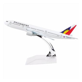 Philippine Boeing 777 16cm Metal Airplane Models Home Decoration - Intl Price Philippines